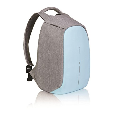 Pastel Design (Bobby Compact Anti-Theft Backpack by XD Design, Pastel Blue)