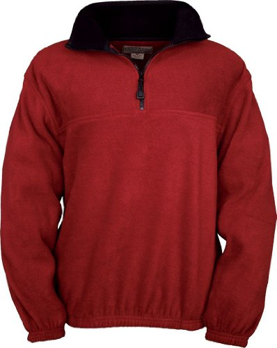 Fleece 1/4 Zip Pullover Jacket - 8