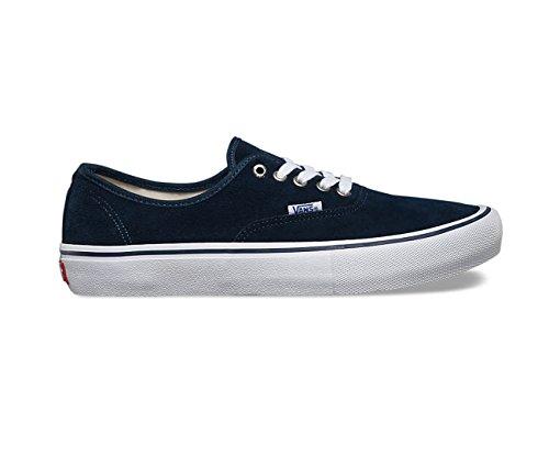 Vans Heren Authentieke Pro Jurk Blauw / Wit Skateboarden Schoenen