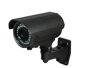 BW BW40TH2S 2.0MP High Definition Sony DSP 4-in-1 CCTV Format TVI + CVI + AHD + CVBS Hybrid output 1080p Bullet Security Camera 2.8-12mm Vari-Focal HD Lens Premium Components 42x New Generation IR LEDs IR Range 40m-Black