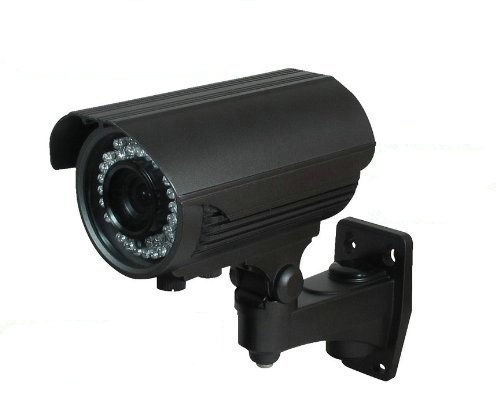 BW BW40TH2S 2.0MP High Definition Sony DSP 4-in-1 CCTV Format TVI + CVI + AHD + CVBS Hybrid output 1080p Bullet Security Camera 2.8-12mm Vari-Focal HD Lens Premium Components 42x New Generation IR LEDs IR Range 40m-Black