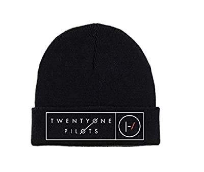 21 Twenty One Pilots Beanie Hat Band Logo Box Lines Official Black