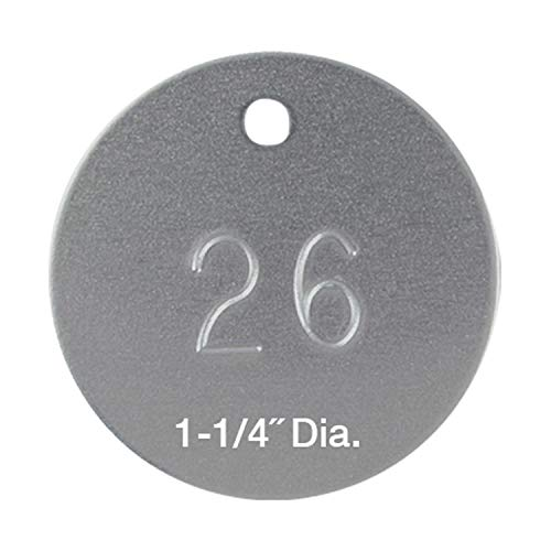 - Forestry Suppliers Round Numbered Aluminum Tags (Numbered 1-1000)