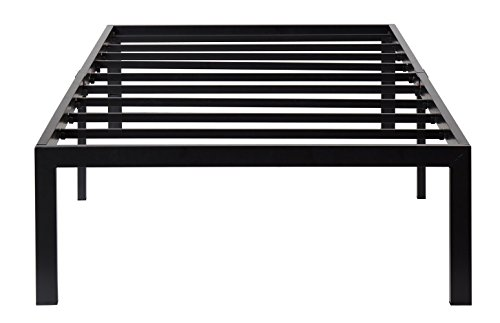 Olee Sleep 14 Inch T-3000 Heavy Duty Steel Slat/Non-slip Support Bed Frame 14BF04T (TWIN) by Olee Sleep