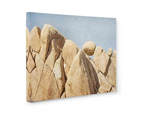 Large Format Print, Canvas or Unframed, Joshua Tree Wall Art, California Desert Decor, Southwestern Landscape Art, Rock Formations' ()