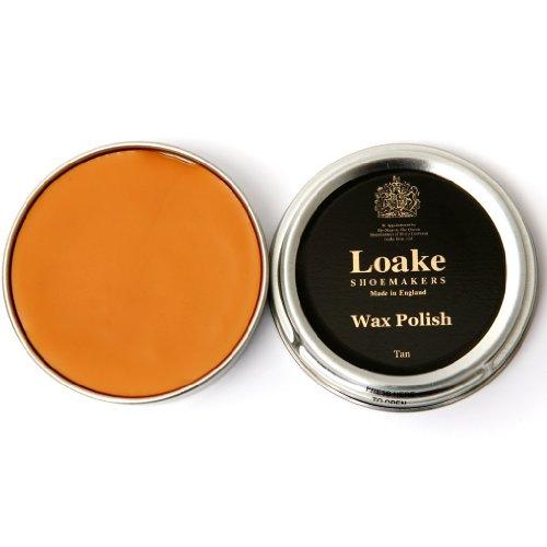 The Loake Esencial Kit Limpieza Incluye Loake Pulir Cera , Loake Aplicador brocha y Loake PULIDO trapo Tostado
