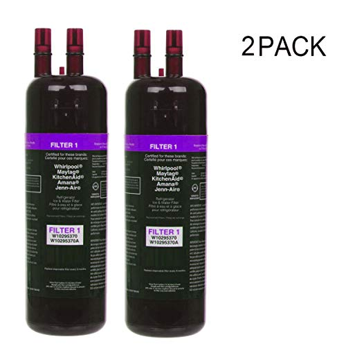 Refrigerator Water Filter1 Compatible with W10-295370 W102953-70A Kenmore 469-930-Purple (2pack)