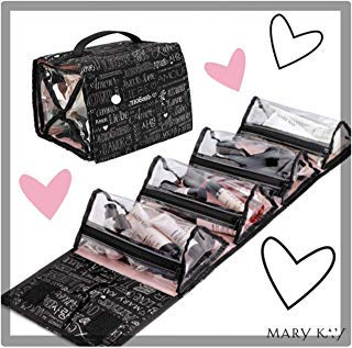 Mary Kay Travel Roll up Bag 4 Removable Pouches