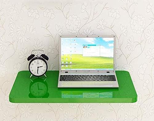 Wandtischks Mesa de Aprendizaje Plegable de Pared Plegable Verde ...