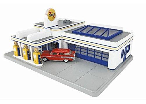 MTH 30-9195 Sunoco Operating Gas Station