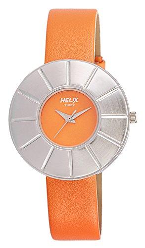 Helix Analog Orange Dial Women's Watch – TI025HL0200