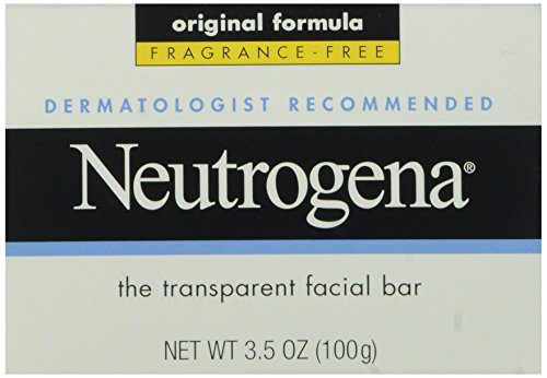 Neutrogena Facial Cleansing Bar, Fragrence Free, 3.5 Oz (Bar Facial Transparent)