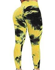 Dfkyts Honingraat Anti Cellulite Hoge Taille Gym Leggings Vrouwen Slim Fit Scrunch Butt Lift Running Panty Wrokout Yoga Broek