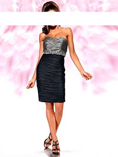 Plateado Vestido Para Negro Mujer Opaco Heine xIpwPqSx