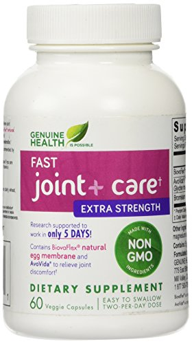 Genuine Health Joint + soins Extra Strength, 60 Capsules