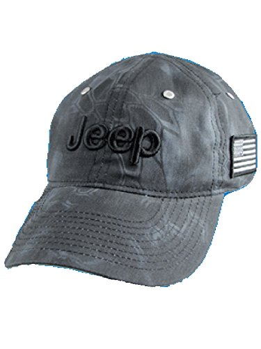 Jeep Charcoal Typhon Camo Cap (Gray Jeep Hat)