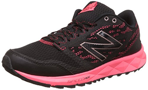 New Balance Women's 590 Trail Running Shoe, Black/Pink, 6 D US For Sale