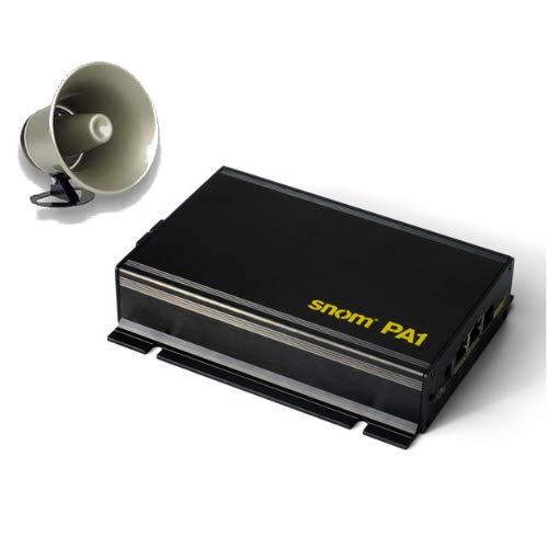 SNOM PA1 Public Address System with Viking Electronics 25AE