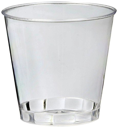 Perfect Stix Shot Glass 2-50ct Disposable Shot Glasses, 2 oz., Clear  (Pack of 50)