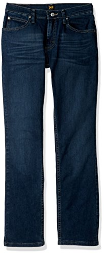 Jeans Lee Boys - LEE Boys' Big Slim Fit Straight Leg Jean, Warren Handsand, 8