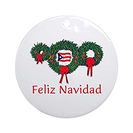 OSWALDO Puerto Rico Christmas 2 Ornament - Round Holiday Christmas Ornament - Amazon.com: OSWALDO Puerto Rico Christmas 2 Ornament - Round Holiday