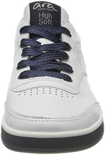 ARA Women's Low-Top Sneakers, White Weiss Blau 05, 3 UK