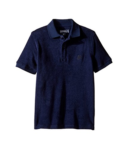 Vilebrequin Terry Cloth Polo - Boys - 10 Years - Navy Blue by Vilebrequin