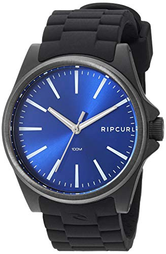 Rip Curl Men's Quartz Sport Watch with Silicone Strap, Black, 22.1 (Model: A3120BLU1SZ)
