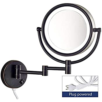 Amazon Com Gecious Wall Mount Magnifying Mirror With