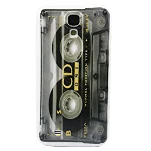 Retro Old-Type CD Magnetic Tape Image Design Snap-on Hard Back Case Cover for Samsung Galaxy S4 IV i9500 - 1 Pack - Retail Packaging by mcsharks