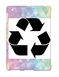 Black Recycle Scratch-resistant Earth Symbols Liberal Shapes Recycle Democrat Green Trash Awesome Pollution For Ipad 3 Protective Case
