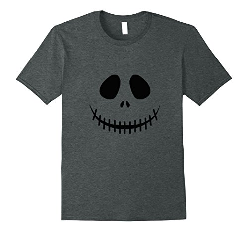 Mens Jack O'Lantern Pumpkin T-Shirt Medium Dark (Jack Pumpkin King Halloween Costume)