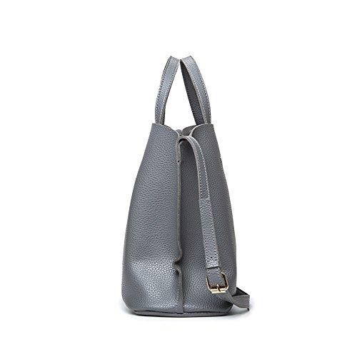 Minimalista Ladies Gwqgz Bag Black Grey Fashion ntn7avx