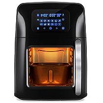 Ngeamsuwanshop BCP 12.4qt XL Air Fryer Oven, Rotisserie, Dehydrator w/12 Presets, 7 Accessories