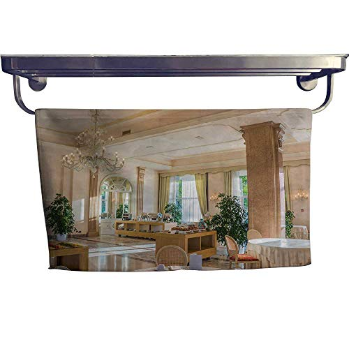 (Leigh home Pool Gym Towels,Deluxe Villa Indoor Photography,Good Ideal for The Kid's Room, a Guest Room W 23.5