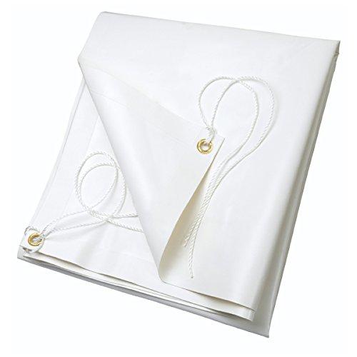 Ribiland 4532 - Lona de PVC de 2 x 3 m 650 g/m² Blanca