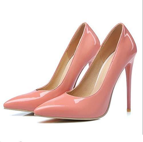 Kleid Damen high Heels HCBYJ Heels Schuhe High Heels Sommer und Partei Heel Frauen high frühling high spitz Shallow büro q0vStwS5x