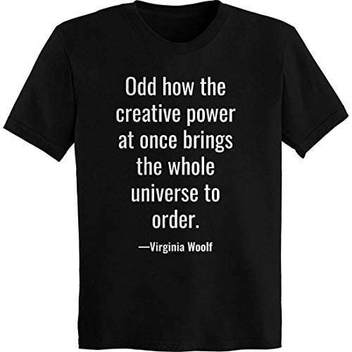 Odd How The Creative Power at Once Brings T-Shirt Black - Shirt Classic Virginia