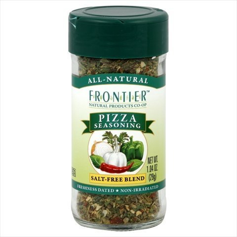 Frontier Natural Products Pizza Seasoning Salt- Free Blend -- 1.04 oz