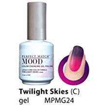 LeChat Perfect Match Mood Gel Nail Polish, Twilight Skies by LE CHAT