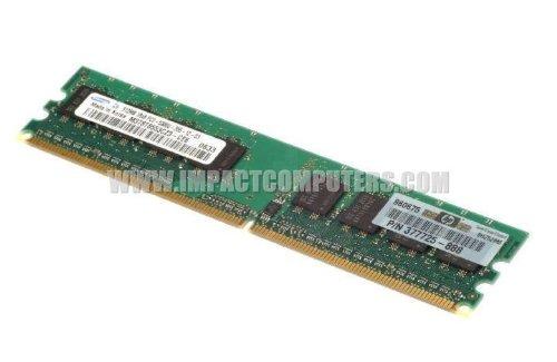 HP 512MB DDR2 PC2-5300 667MHz 240pin CL4 377725888 377725-888