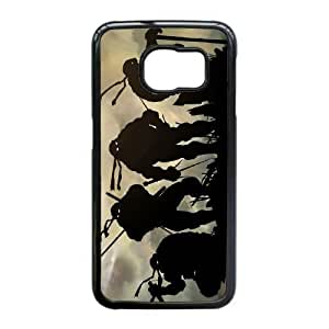 Samsung Galaxy S6 Edge case(TPU), NINJA TURTLES NINJA TURTLES Cell phone case Black for Samsung Galaxy S6 Edge - HHKL3323567