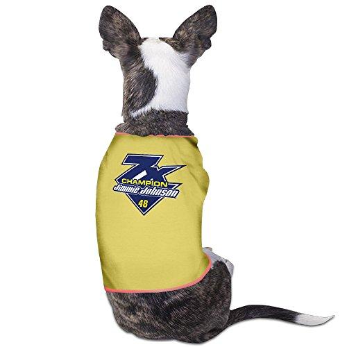 (Jimmie Johnson Fanatics Branded Black 2016 Sprint Cup Champion 7-Time Champion Puppy Clothes Pet Supplies)