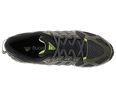 Adidas kanadia tr 6 m scarpa da corsa, terra verde / grey