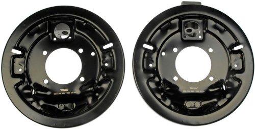 Dorman 924-218 1PR. Rear L/R Brake Dust Shield Backing Plate 18013180 18013181 Dorman - OE Solutions