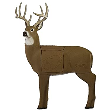 GlenDel Full-Rut Buck 3D Target w/ 4-sided rotating and replaceable core