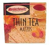Manischewitz, Thin Matzo; Tea, Size - 10 OZ, Pack of 3