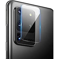 Samsung Galaxy S20 Ultra Zore Kamera Lens Koruyucu Cam Filmi Renksiz