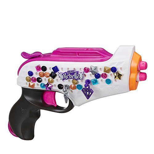 Amazon.com: NERF Rebelle Remix Improv Blaster: Automotive