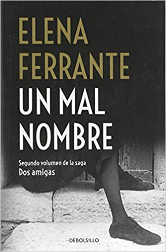 Book's Cover of Un mal nombre (Dos amigas 2) (Español) Tapa blanda – 23 noviembre 2018